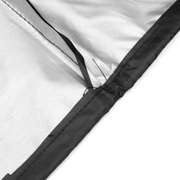 75X20X40inch Lawn Mower Cover Polyester Fiber Dust UV Protection Water Resistant