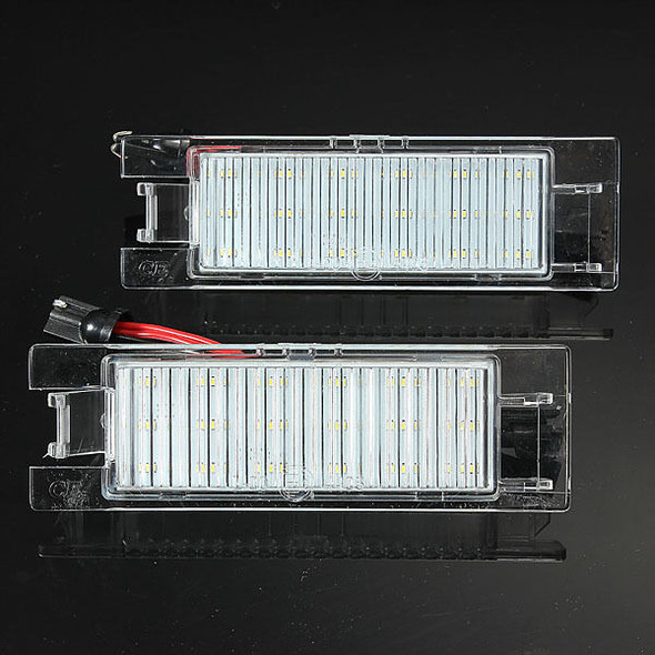18 LED License Number Plate Light For Vauxhall Opel Corsa