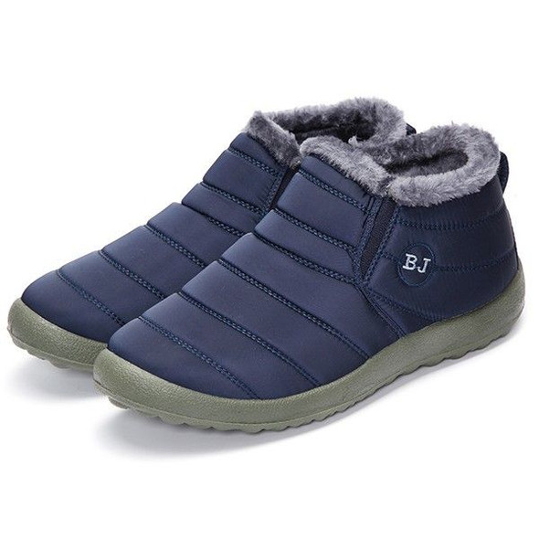 Men Winter Cotton Warm Lined Casual Outdoor Snow Boots