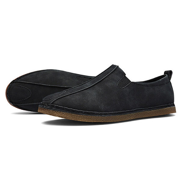 Men Comfortable Soft Sole Suede Loafers