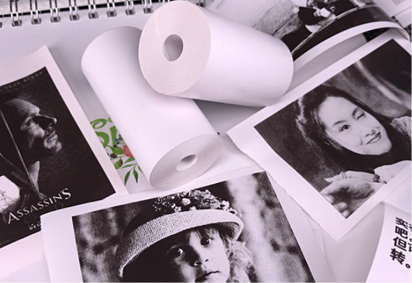 Style: Label, Color: Style1, Quantity: Q3 - PerPage Mini Wireless Portable Thermal Printer paper