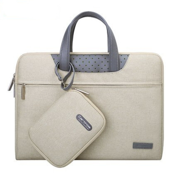 Color: Gray, Size: 13.3inches - Business Laptop Bag 12 13 14 15 15.6 inch Computer Sleeve bag For M