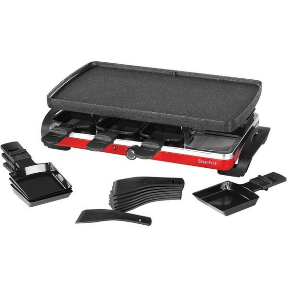 THE ROCK by Starfrit 024403-002-0000 THE ROCK by Starfrit Raclette/Party Grill Set