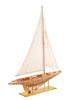 "38"" Shamrock Open Hull Yacht Model"