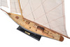 Wooden Sailing Model Built from Scratch