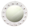 White Porthole Style Mirror