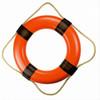 Plain Vinyl Orange Nautical Ring Buoys
