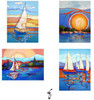Unique Sailing Blank Notecards - B