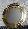 "11"" Brass Ships Working Porthole Mirrors"