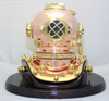 Save today on a unique antique reproduction dive helmet on display.