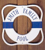 "12"" Personalized Lettering Life Preserver Plaque"