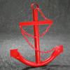 """34"""" Red Navy Ship Anchor"""