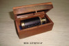 Leather covered spyglass