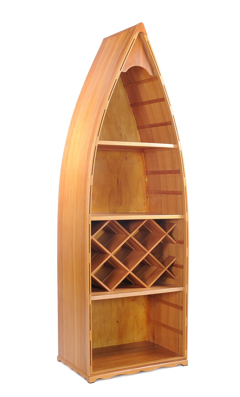 Nautical Theme Bookcase And Wine Rack