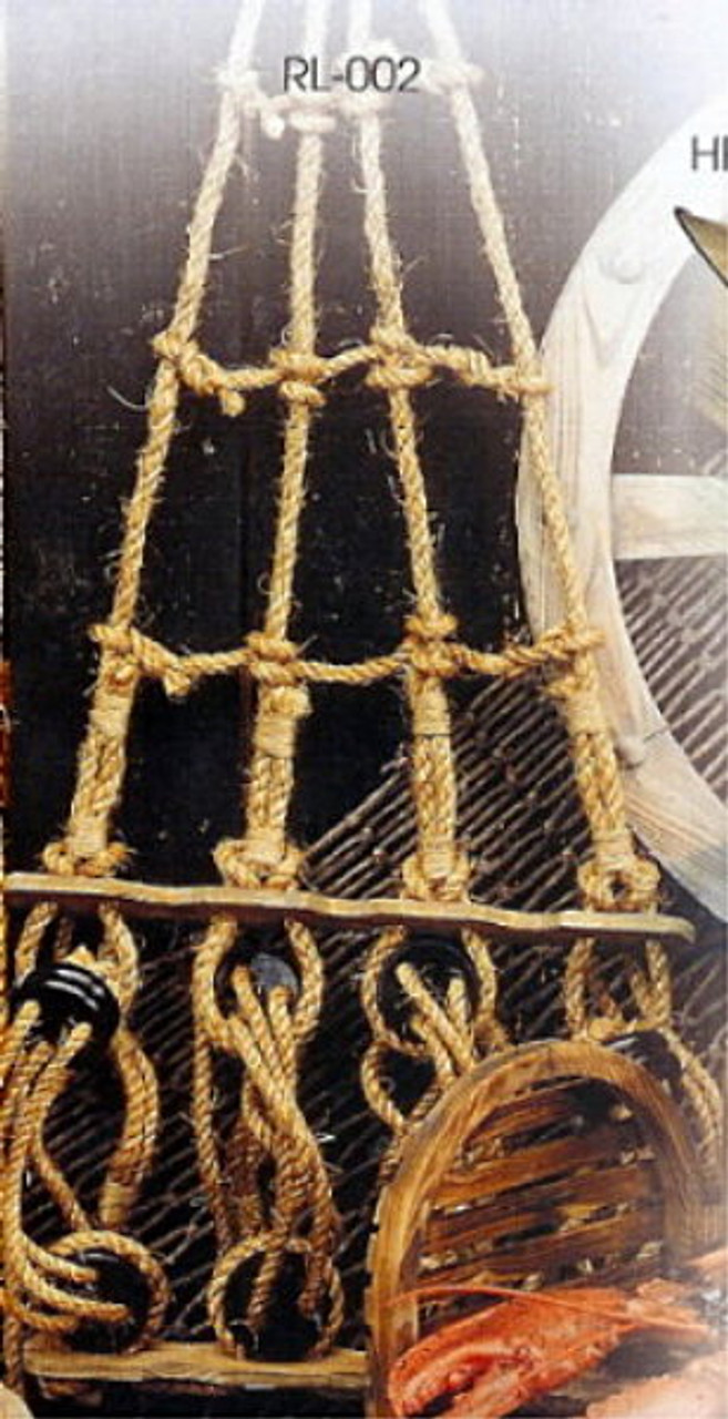 45 Inch Rope Ratlines Pirate Ladder