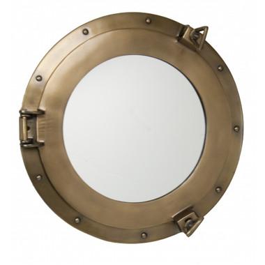 Large Bronzed porthole