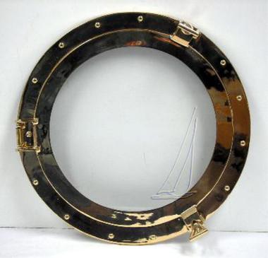 "8"" Brass Ships Porthole MIRRORS"