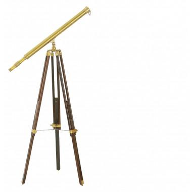 """39"""" Antiqued Harbor Master Floor Telescope"""