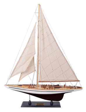 Endeavour Racing Yacht Model Boat