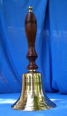 14 x 6 School Teacher Brass Bell