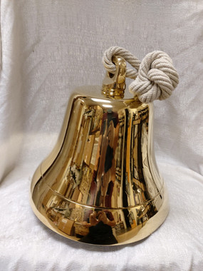 "8"" Brass Hanging Bell"