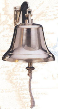"10"" & 12"" Large Brass Ship Wall Bell"