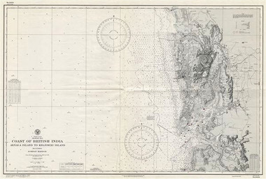 Old Vintage Nautical Charts Africa