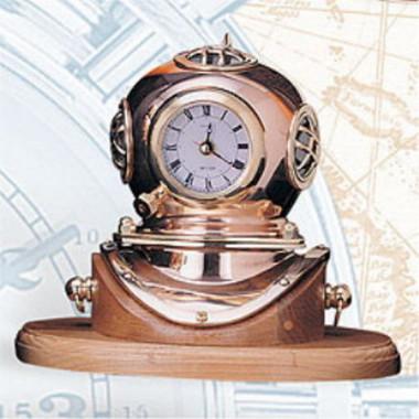 """8"""" MARK V Navy Divers Helmet Clock"""