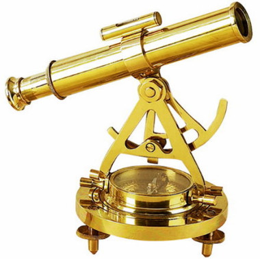 Brass Surveying Alidade Theodolite