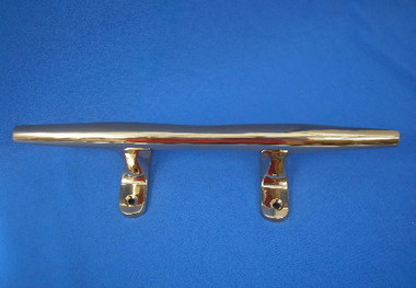 """Solid Brass Yacht Cleats 10"""" and 12"""""""