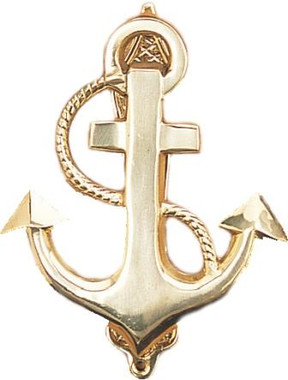 Anchor Brass Door Knocker