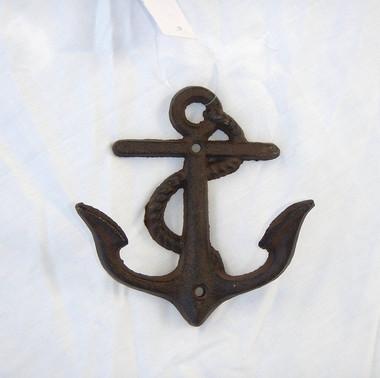 Cast Iron Fouled Anchor Hooks