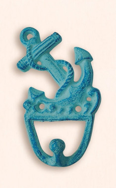 Cast Iron Fouled Anchor Utility Hooks