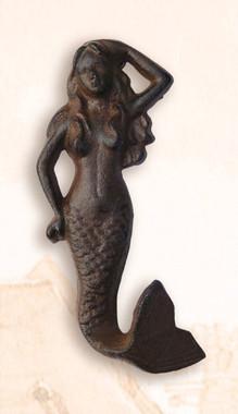 Vertical Mermaid Clothes Hook