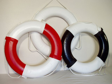 "30"" Nautical Life Ring Buoy Preserver"