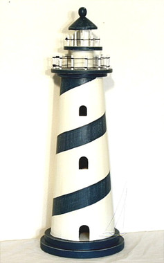 """36"""" Nautical Wood Lighthouse"""