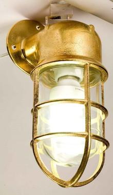 Brass Exterior Oceanic Angle Lights