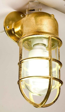 Brass Exterior Oceanic Angle Lights