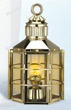 Brass Clipper Ship Anchor Light Lantern