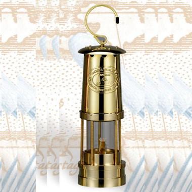 Deluxe Brass Miner's Oil Lamp