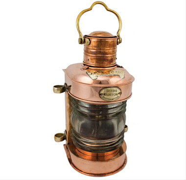 Polished Copper Oil Ships Lamps
