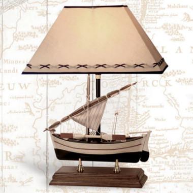 20 Inch Sailboat Lamp