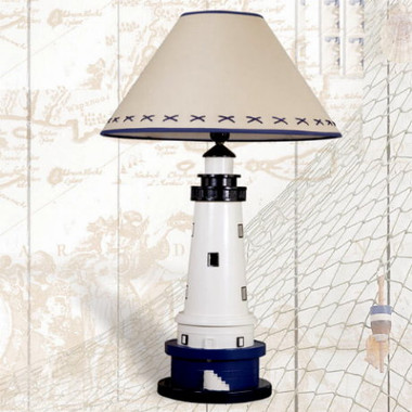 "27"" Tall Lighthouse Table Lamp"