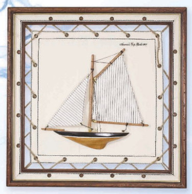 Americas Cup Canvas Wall Hanging