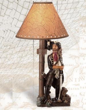 20 Inch Pirate Lamp