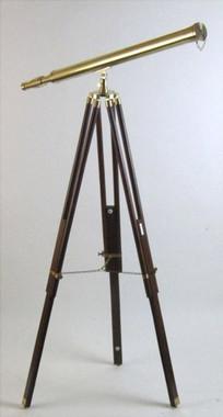 "38"" Brass Harbor Master Telescope w Tripod"