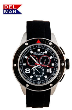 Men's 100 Meter Rugged Sport Chronograph Watch