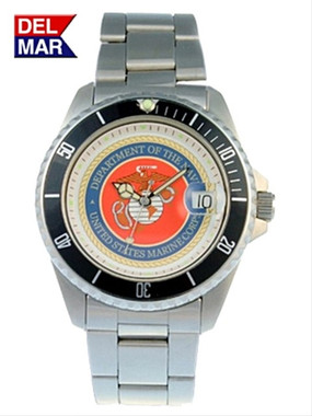 Men's Marine Military Dive Watch Stainless