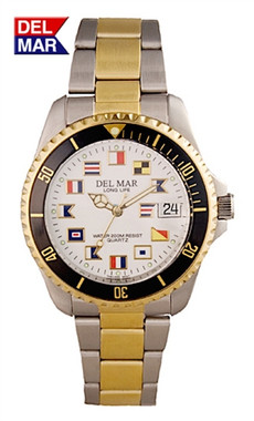 Men's Two Tone Classic Nautical Flags 200 Meter