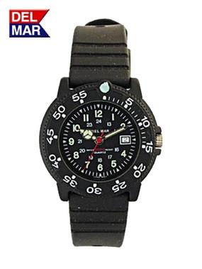 Women's Dive 200 Black Dial PU Watch